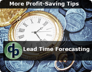 Lead Time Forecasting - What's New in 2013
