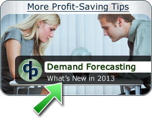Demand Forecasting - What's New in 2013