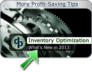 Inventory Optimization - What's New in 2013
